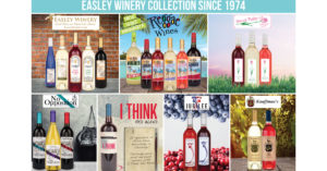 Easley Winery has completed a $2 million expansion.